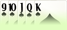 Sequência Poker Royal Straight Flush