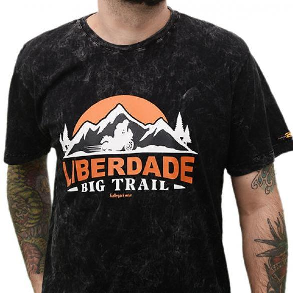 Liberdade Big Trail Preto Estonado