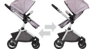 Modular stroller bayi yang fleksibel dan canggih.