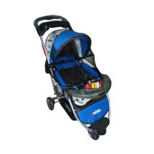 Pliko Boston stroller bayi yang fungsional.