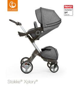 Stokke Xplory V4, kereta dorong bayi yang fleksibel dan punya penampilan kece.