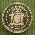 Primera moneda de oro de BELIZE