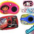 Camaras digitales  infantiles de Dora la exploradora  y cars de Disney originales