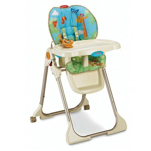Silla de comer fisher price rainforest muebles a la for Silla fisher price para comer