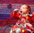 Cobijas tejidas a mano de Cool Babies