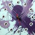 Reloj dos tonos morado, violeta