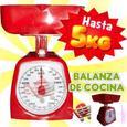 Balanza O Peso De Cocina De 5kg Analogica Con Regulador New