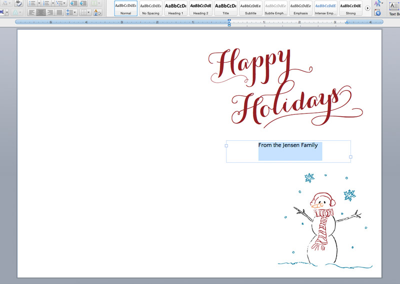 Printable Holiday Cards  Liners On The Paper Chronicles