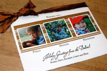 Robin Beth's 2005 holiday card