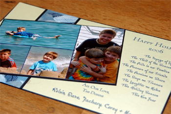 Robin Beth's 2006 holiday card