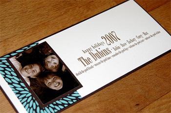 Robin Beth's 2007 holiday card