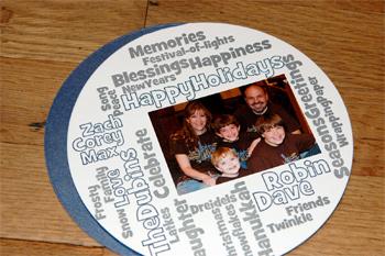 Robin Beth's 2008 holiday card