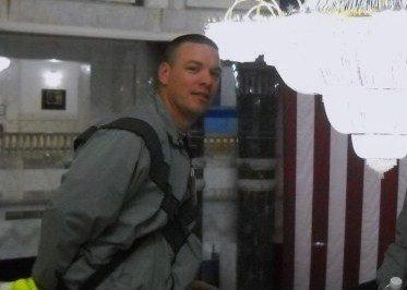 Fiance Jeremy in Iraq