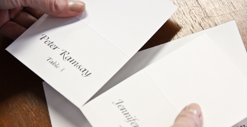How to print place cards lci paper co if you would rather speed things up a bit we offer a selection of 4 up place cards pre scored and pre perforated on an 8 12 x 11 sheet of cardstock for reheart Gallery