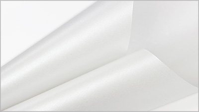 Stardream metallic white paper color Crystal
