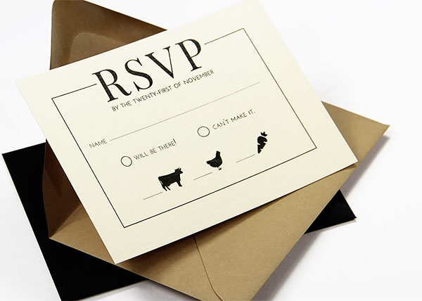 Wedding RSVP Envelopes | RSVP Return Envelopes
