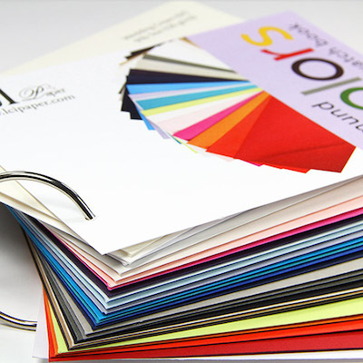 gmund color system envelope swatch book includes full sized a7 envelopes - Color Swatch Book