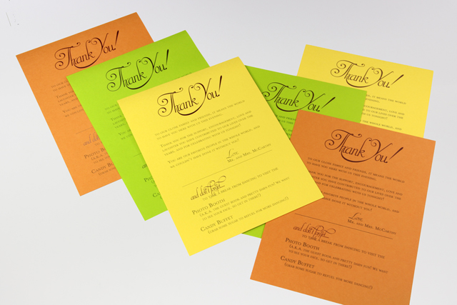 inkjet and laser printed sheets