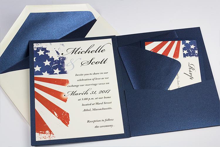 metallic paper cards pockets envelopes coordinate create
