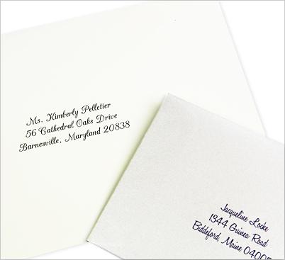 wedding envelopes - LCI Paper envelope printing service