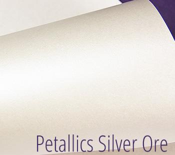 aspire petallics silver ore paper