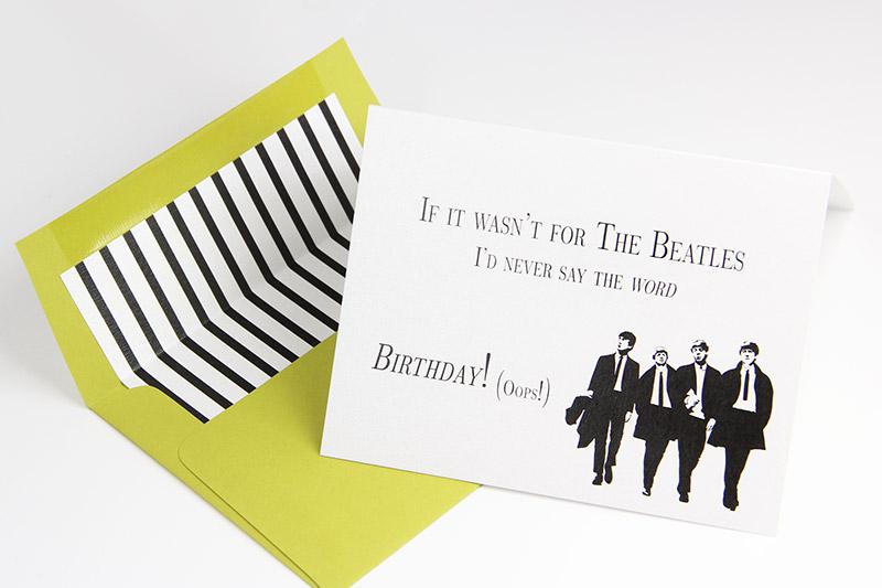 Happy Birthday USA 8 Offbeat Birthday Cards for July – Beatles Birthday Cards