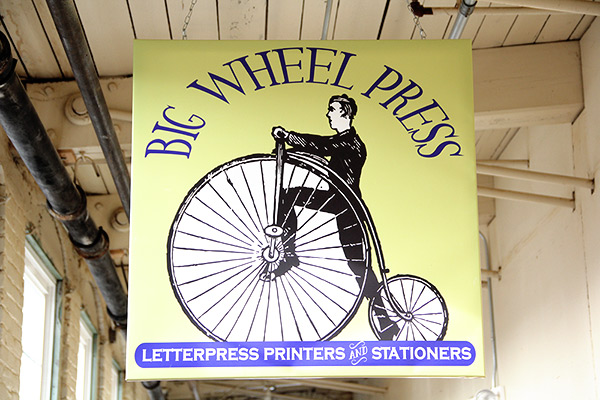 Big Wheel Press in Easthampton Massachusetts