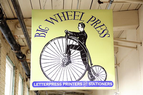 Big Wheel Press in Easthampton Massachusetts