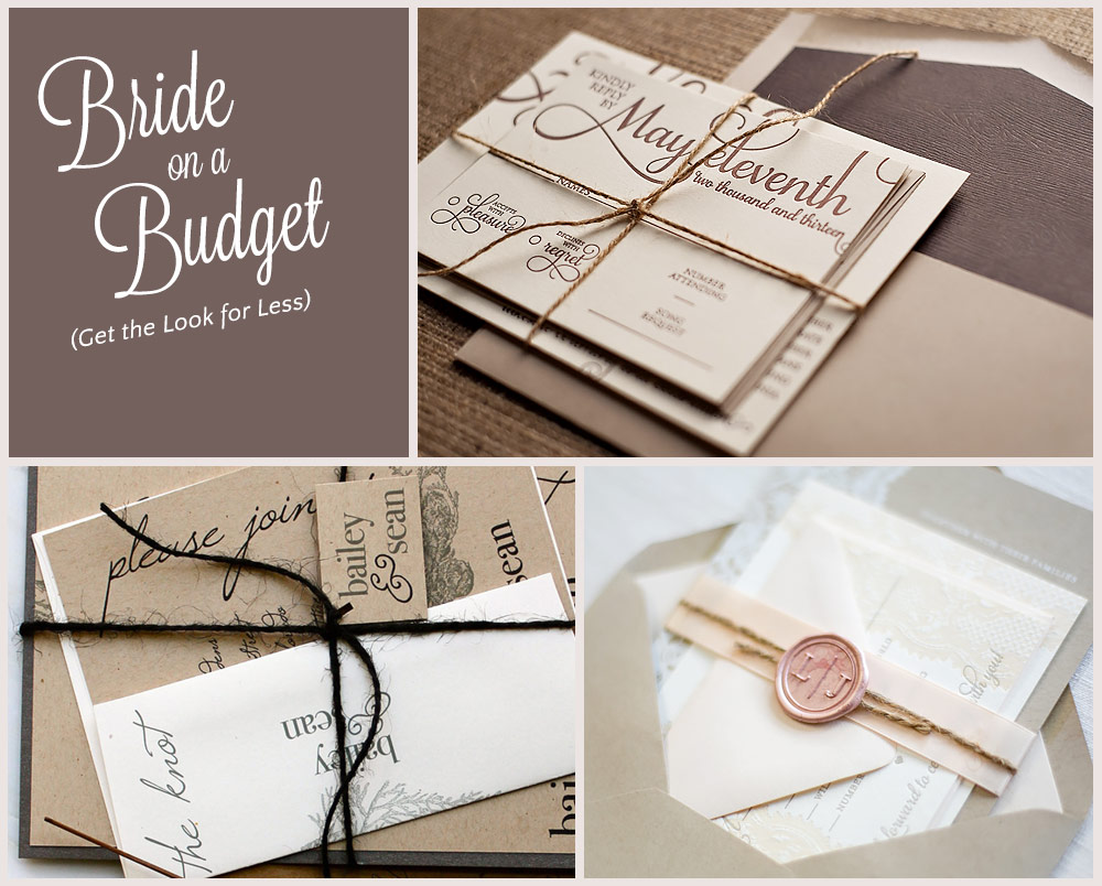 how to make diy invitations look professional
