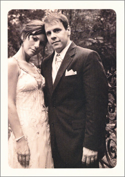 Christen & Kevin thank you card