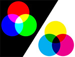 CMYK and RGB models