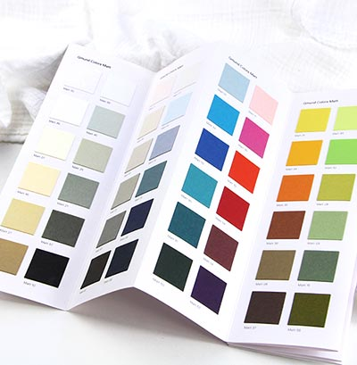 48 colors offered by LCI paper in cards, paper, envelopes. Mix and match to make your own wedding invitations