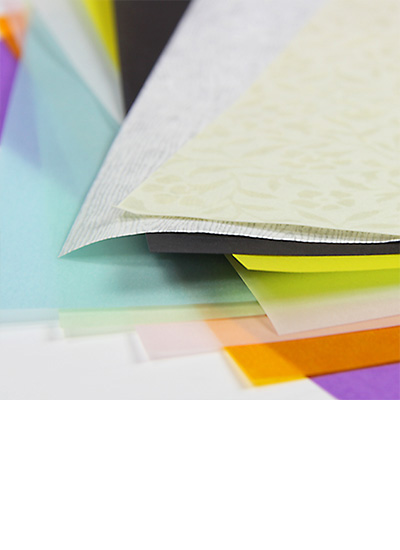 colorful medium weight vellum