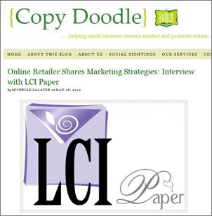 Copy Doodle LCI Paper Marketing Strategies