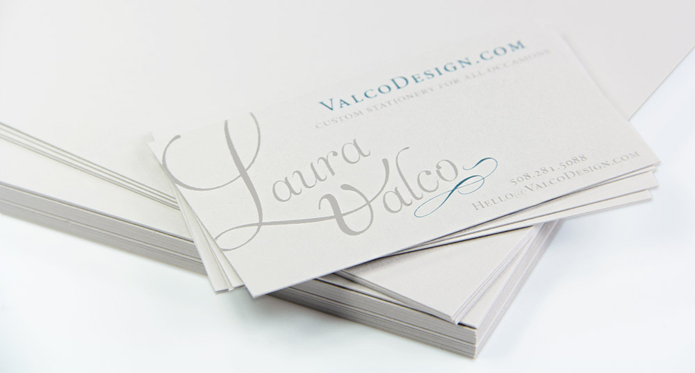 Cotton Paper - Luxurious Even without the Letterpress