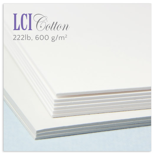 double thick 600gsm cotton card stock