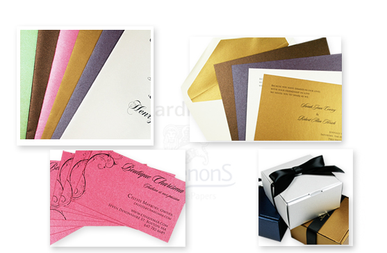 stardream paper gift boxes and invitations