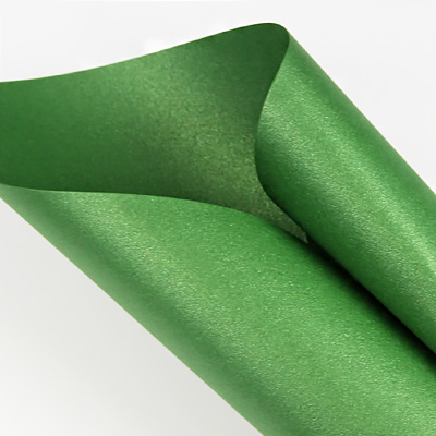 Curious Metallics Botanic - emerald green metallic paper