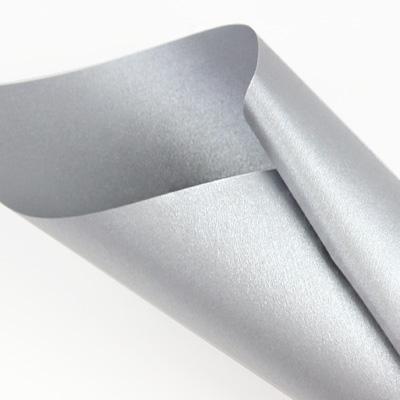 Curious Metallics Galvanised - silver metallic paper