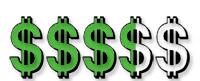 price range graphic - curious metallics papers