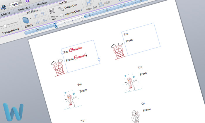 free gift tag template download and customize using microsoft word