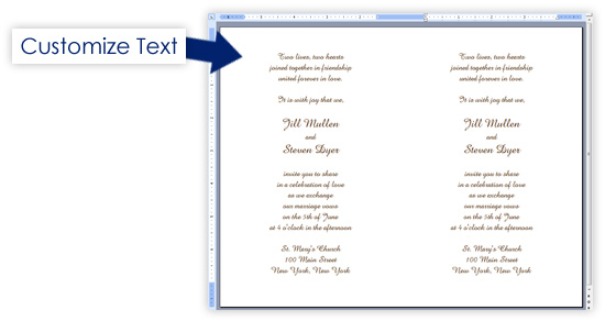 Printable Invitations  Up Up Perforated  Lci Paper