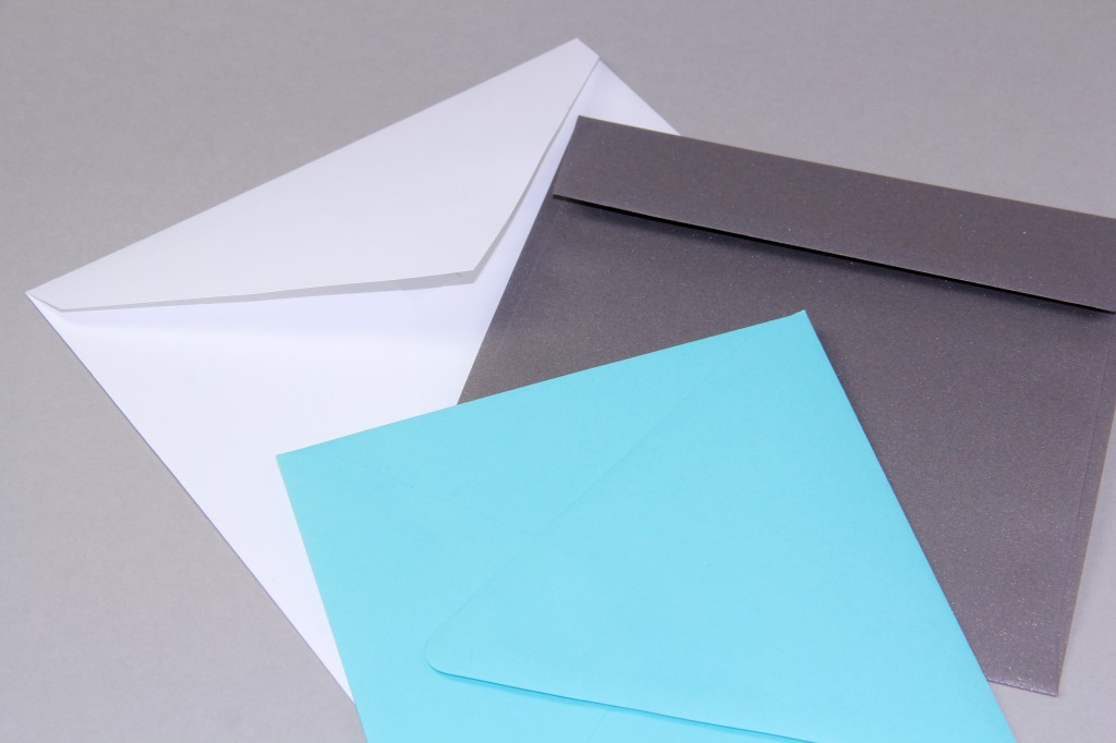 square envelope flap styles at LCI Paper Co.