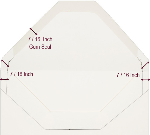 Doc585685 Sample Envelope Liner Template Envelope Liner – Sample A7 Envelope Template