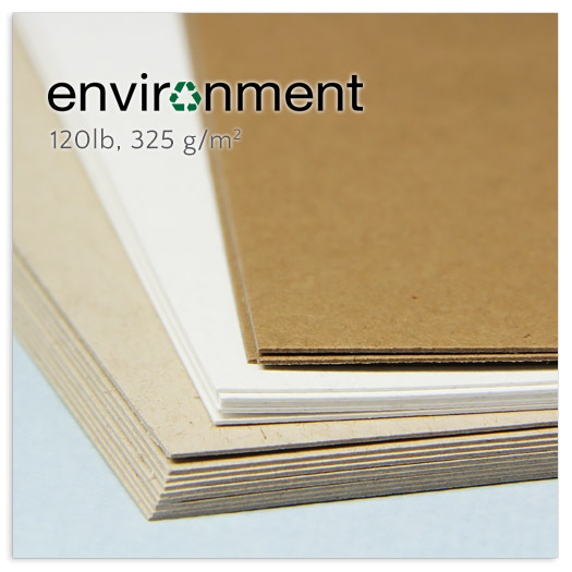 Neenah Environment brand 120lb double thick card stock