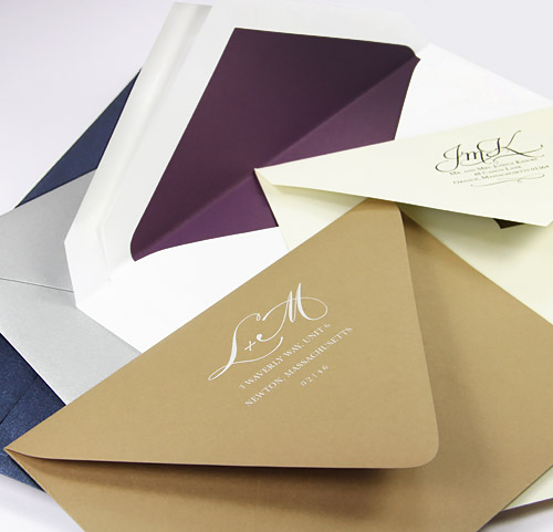 Shop 100s Of Wedding Envelopes Blank Or Printed From LCI Paper