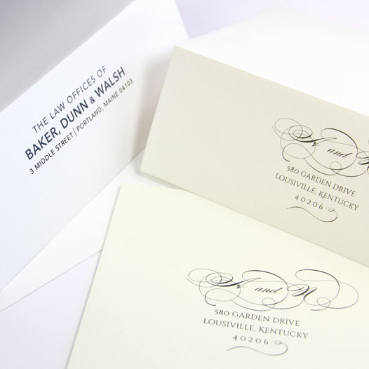 Order felt finish envelopes blank or printed from LCI Paper