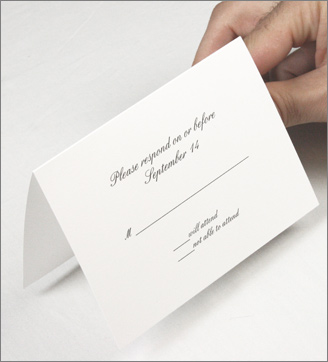 How To Print Folding A1 Cards and RSVP Cards