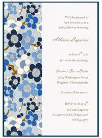 glue invitation to pocket card