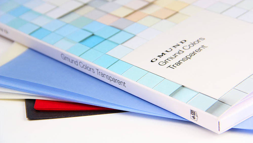 Gmund Color System translucent papers